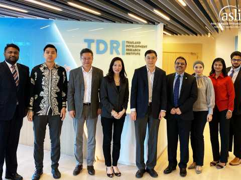 Official Visit to Thailand Development Research Institute (TRDI)