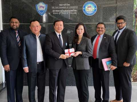 Official Visit to The Thai Chamber of Commerce and Board of Trade of Thailand