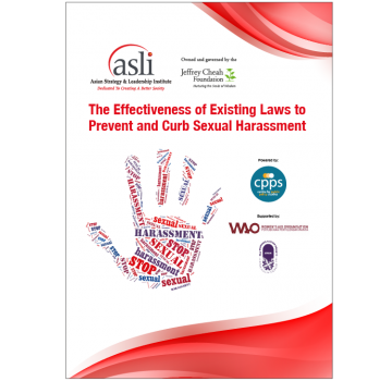 Executive Summary - The Effectiveness of Existing Laws to Prevent and Curb Sexual Harassment